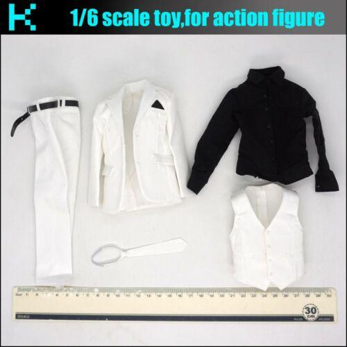 Y74-05 1//6 scale VTS TOYS VM029 Black Skull-suit set