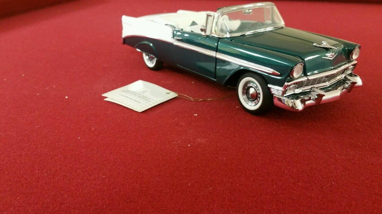 Franklin Comme neuf 1956 CHEVROLET BEL AIR cabriolet échelle 1 24