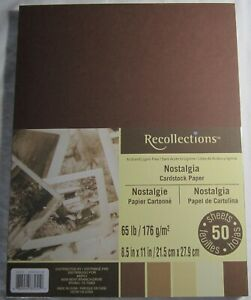 Recollections-Cardstock-Carta-8-1-5-1cm-x-27-9cm-50-Sheets-29-5kg-5-Colore