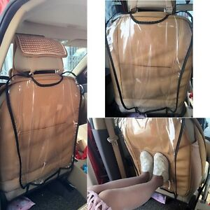 1//2PC Car Auto Seat Back Protector Cover For Children Kick Mat Mud Clean Trend