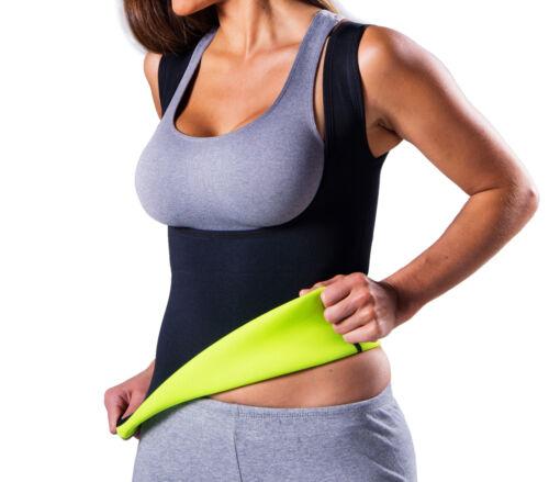 Sauna Vest Shirt for Women Weight Loss Apparel Shaper sweat Neoprene sweet redu