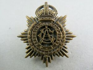 Military-Cap-Badge-ASC-Army-Service-Corps-British-Army-1901-19-Firmin-Tablet