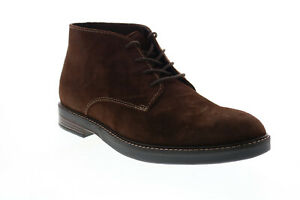 Clarks Paulson Mid 26151969 Mens Brown Suede Lace Up Chukkas Boots