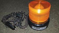 Vintage Duty Master Federal Signal Corp 12v Amber Strobe Light 34312 Works Great
