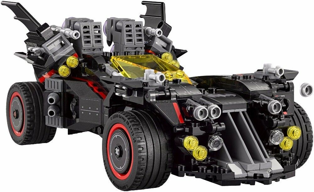 1496pcs Marvel's The Avengers Super Heroes Ultimate Batmobile Batman Building