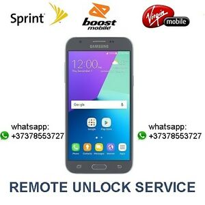 Details about GSM Sim Unlock Service Galaxy J3 Emerge J327P, J7 Perx J727P  Sprint Boost Virgin
