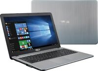 NEW ASUS 15.6 Intel N3200 Quad Core 2.4GHz 4GB RAM 500GB HD  HDMI WIN 10 X540SA
