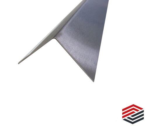 Edelstahl Winkel Profil Eckschiene  1500mm V2A  Kantenschutz 0,8mm K240 Leiste