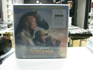 Jumanji, The Next Level 2LP Original Soundtrack 2020 Limited Desert Sand Vinyl