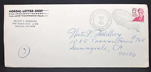 US-Cover-Airship-Calumet-Stamp-Club-Ex-Station-Zeppelin-Stamp-Letter-I-7782