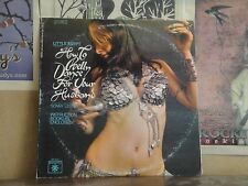 HOW TO BELLY DANCE FOR YOUR HUSBAND, SONNY LESTER - LP SR 42021 CHEESECAKE