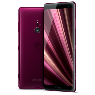 Sony Xperia XZ3 Dual-SIM bordeaux red Android 9 Smartphone