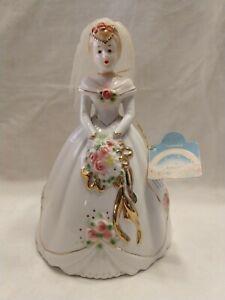 VTG-HTF-Josef-Originals-38660-Applause-porcelain-Bride-wedding-figurine-7-034-NWOB