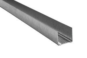 500 Meter UD Profil Trockenbau Gipskarton Decke Wand Ausbau 30x27mm HT-UD 27