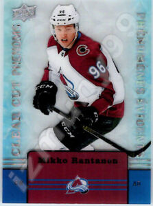 2019-20-UD-TIM-HORTONS-CLEAR-CUT-PHENOMS-MIKKO-RANTANEN-INSERT-CARD-CC6-Rare