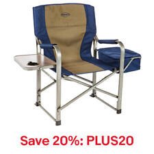 Kamp-Rite CC118 Outdoor Camp Folding Chair w/Side Table & Cooler, 20% off:PLUS20