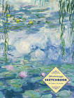 Sketchbook: Waterlilies by Claude Monet: 128-Page Unlined Pages by Peony Press (Spiral bound, 2016)