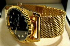 Milanaise Uhrenarmband 22mm Mesh Shark Gold aus Edelstahl