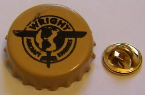 WRIGHT-AIRCRAFT-ENGINES-aviation-vintage-pin-badge