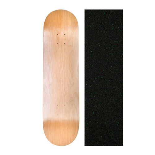 """Cal 7 Blank Maple Skateboard Deck 8.5/"""" with Mob Grip Tape Multi-Colors Set"""