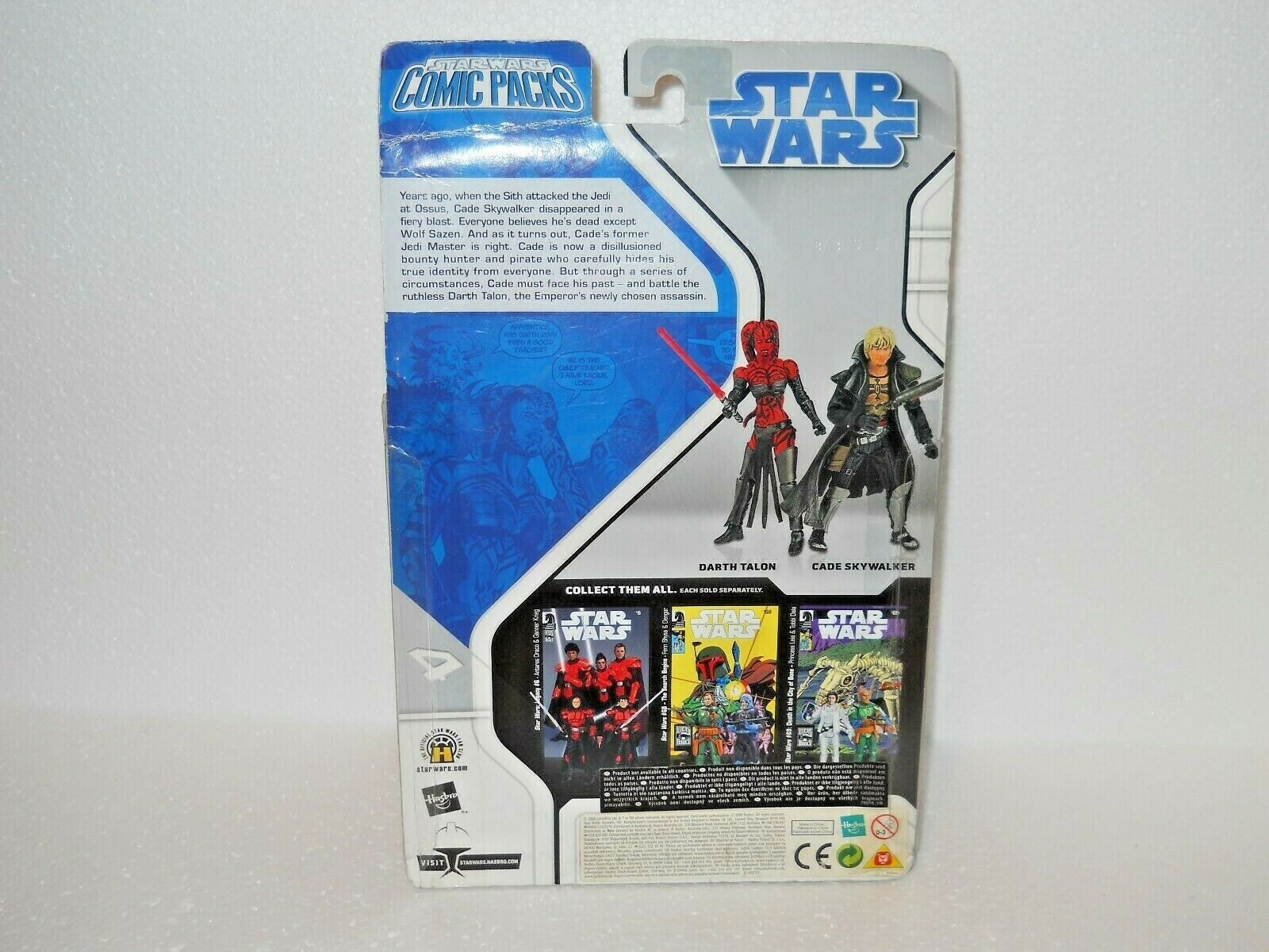 Star Wars Comic Packs Darth Talon and Cade Skywalker