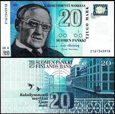 FINLAND 20 MARKKAA 1993 (1997) UNC P 123