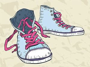 SPORT-SHOES-SNEAKERS-ILLUSTRATION-PHOTO-ART-PRINT-POSTER-PICTURE-BMP1630A