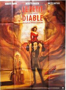 Plakat Kino Le Klein Teufel Roberto Benigni Walter Matthau - 120 X 160 CM
