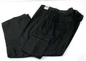 Nuevo Tact Squad Para Hombre Pantalones Tipo Cargo De Utilidad Emt 7011 Negro 54x32 Ebay