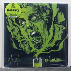 039-RE-ANIMATOR-039-Soundtrack-HP-Lovecraft-Ltd-Edition-CLEAR-YELLOW-Vinyl-LP-NEW