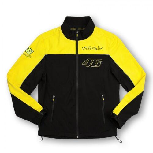 Rossi ufficiale giacca Vrm gialla Valentino Jk Vr46 Nuova nera e 153204 ZHOxqWfq4