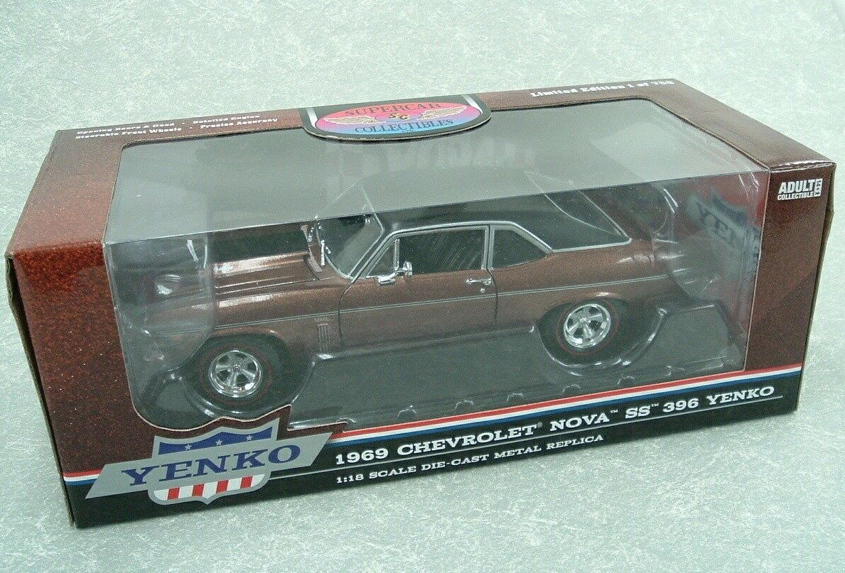 1 18 1969 Chevy Nova SS 396 YENKO fonder Limited edition 1 of 750  CP7469