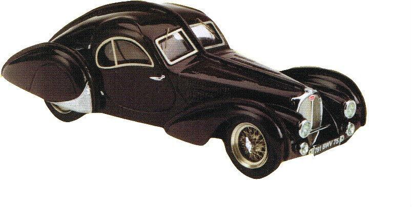 Kit pour miniature auto CCC   Bugatti 57 SC atlantic 1939