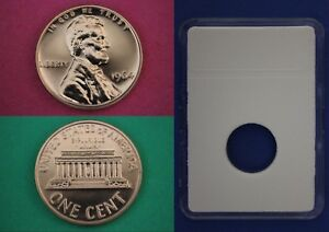 1989 S Proof Lincoln Memorial Cent Penny With 2x2 Case Combined Shipping