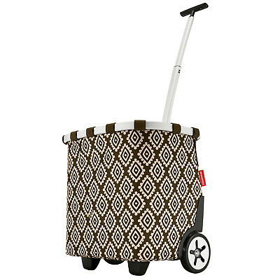 Reisenthel Carrycruiser Diamonds Mocha Cruiser 40 L Trolley Shopper Carrello-mostra Il Titolo Originale Aiutare A Digerire Cibi Grassi