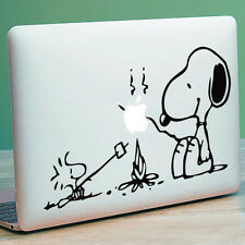 "SNOOPY & PEANUTS Apple MacBook Decal Sticker fits 11"" 12"" 13"" 15"" and 17"" models"