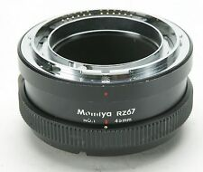 Mamiya RZ67 Extension Tube #1 45mm. A Must For Close-Up Work. Ex.