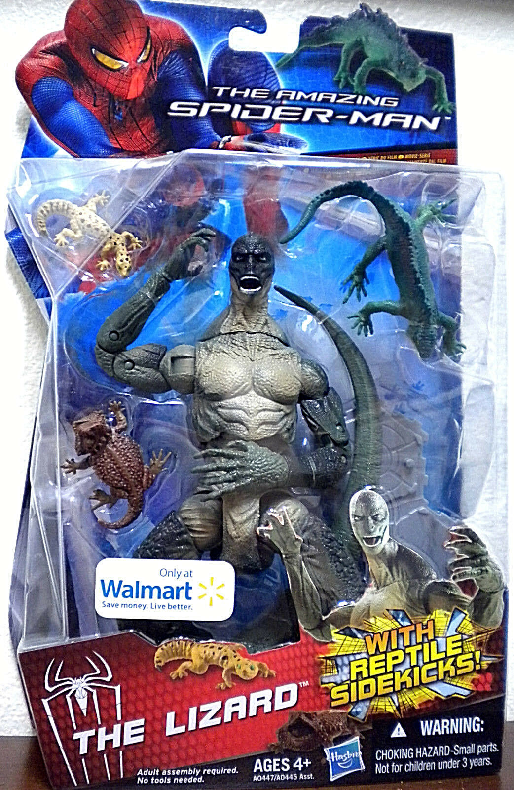 The Amazing SPIDER-MAN Movie Collection_THE LIZARD 6  figure_Exclusive_New & MIP