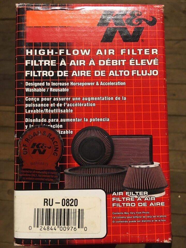Andet biltilbehør, KN filter