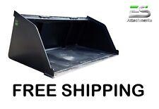 Es 60 Snowmulchdirt Bucket For Skid Steer Quick Attach Loader Free Shipping