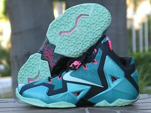 e2da710b910 Nike Lebron XI South Beach 10 Men s Basketball Shoes 616175-330