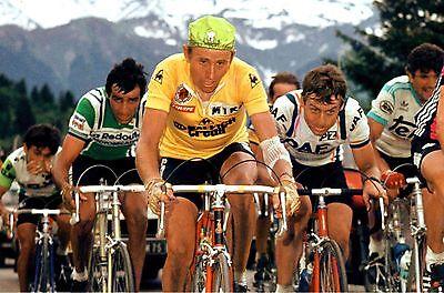 JOOP ZOETEMELK TEAM TI RALEIGH TOUR DE FRANCE 1980 MAILLOT JAUNE POSTER