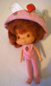 FidèLe Vintage Strawberry Shortcake Poupée Dans Son Original Outfit-afficher Le Titre D'origine
