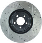 Disc Brake Rotor-Sport Drilled/Slotted Disc Front Left Stoptech 127.20030L