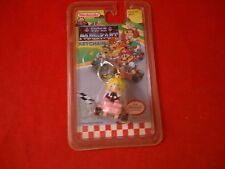 Princess Peach Super Mario Kart Super Nintendo SNES Keychain **BRAND NEW**