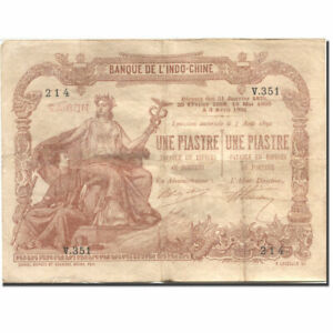 277209-Banknote-FRENCH-INDO-CHINA-1-Piastre-Undated-1903-1921