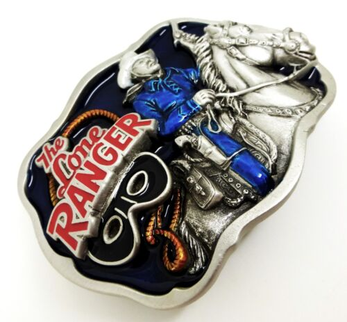 The Lone Ranger Belt Buckle Western Horse Authentic Licensed Great American