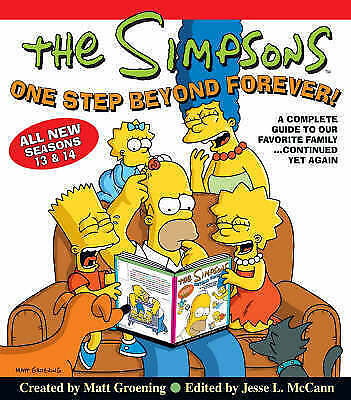 1 of 1 - Simpsons One Step Beyond Forev  BOOK NEW