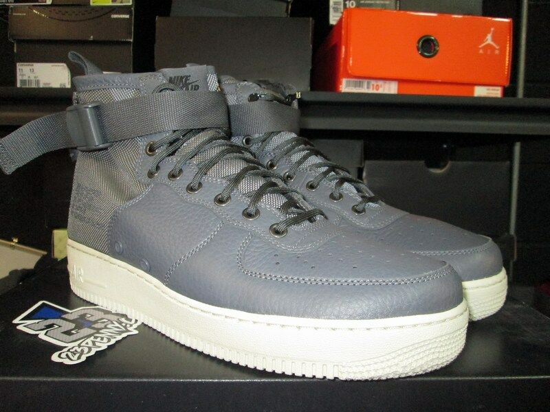 New shoes for men and women, limited time discount SALE AIR FORCE 1 SF SPECIAL FIELD DARK GREY LIGHT BONE 917753 004 Price reduction