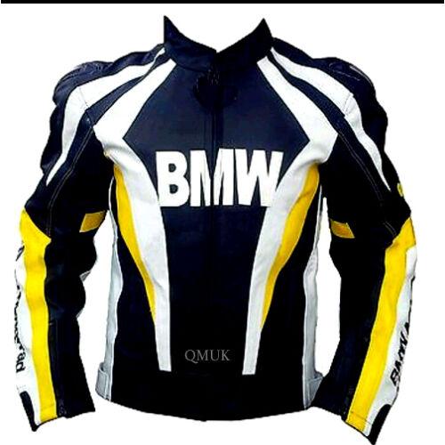 Qmuk BMW Moto Veste en cuir-EC approuvé une protection complète